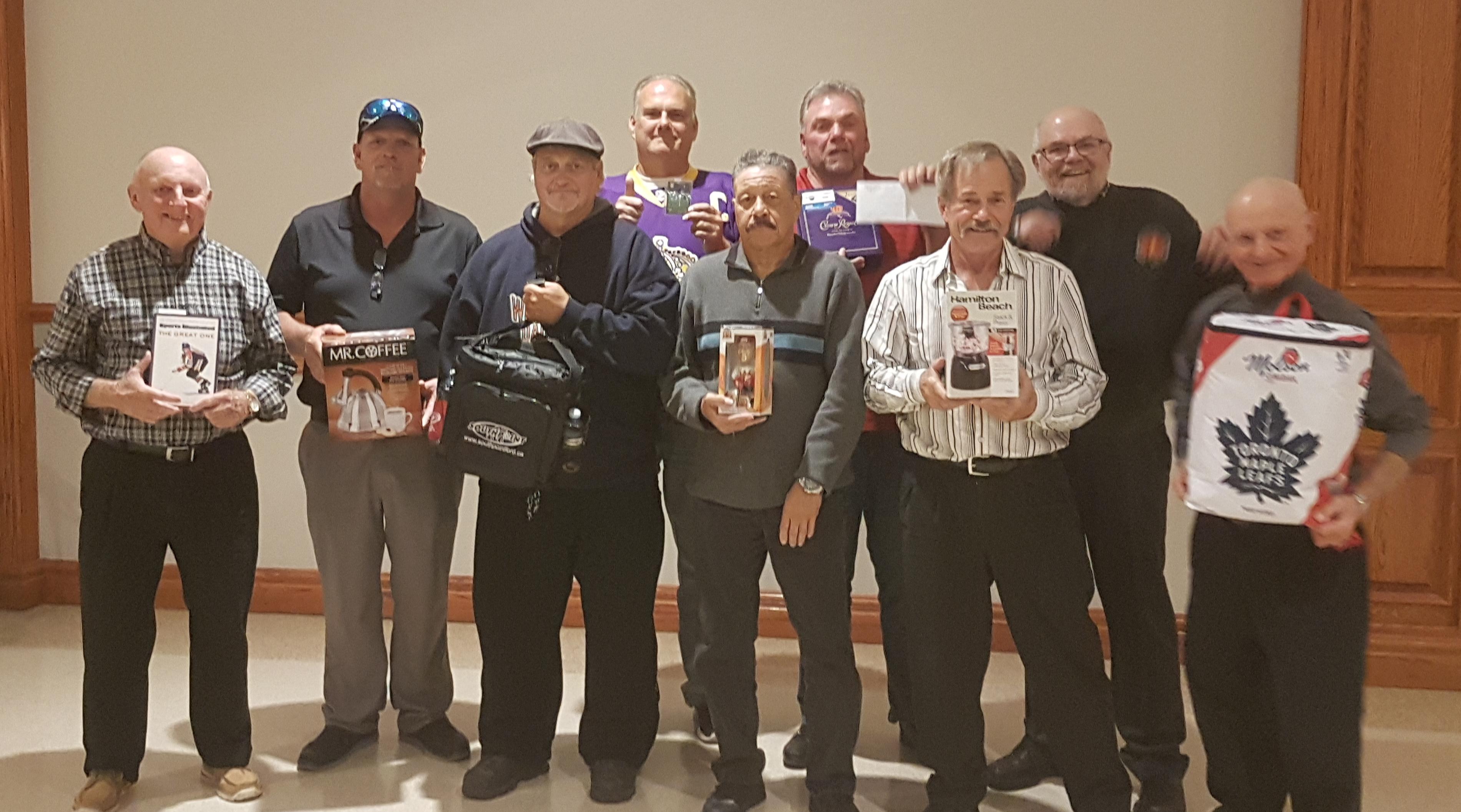 A few prize winners